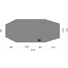 Tatonka LT Polar 3 Floor Sheet 410x95/175cm, stone grey olive